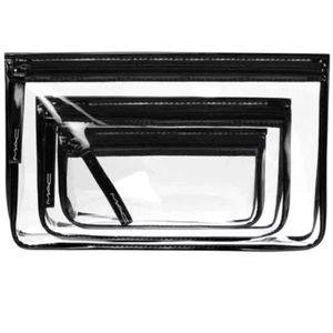 Mac cosmetics bag set